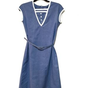 Vintage Harold Williams blue dress